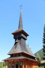 Wooden church in Romania - Poiana Brasov