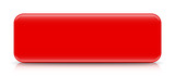 long red button template with reflection - 79236503