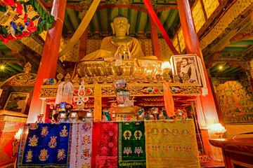 Buddha Statue , Hemis monsatery, Leh, Ladakh, Kashmir, India