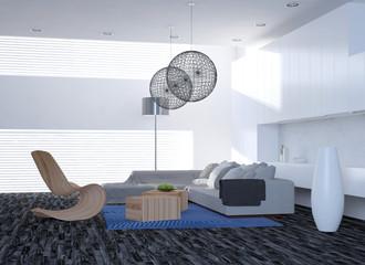 Modernes Design Wohnzimmer / Interieur / Interior