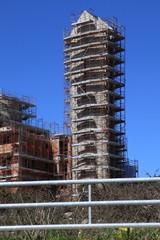 Cantiere edile - opere in cemento armato