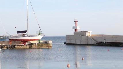 Sea port of Sochi