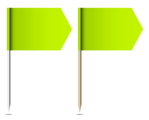Two Flags Arrow Green