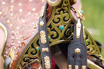 eastern decorative saddle
