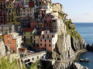 Village of Manarola, Cinque Terre Italy