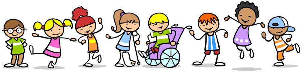 Integration von Kindern mit Behinderung