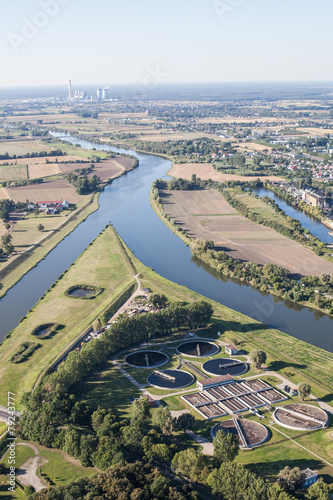 Aerial view of Opole city center - 79243777