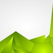 Bright green abstract background design