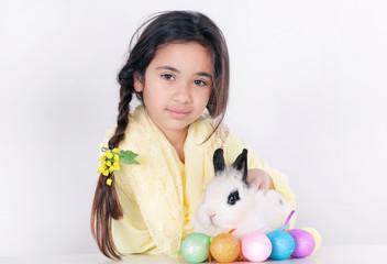 Fluffy white color eggs