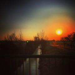 Nice bloody Sunset over Vienna