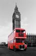 Londonbus vor Big Ben - 79246105