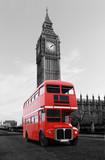 Londonbus vor Big Ben