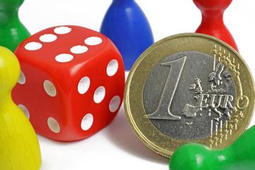 euro mit würfel