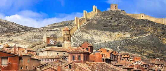Albarracin - medieval terracote town in Spain