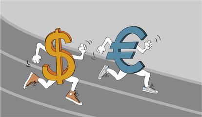 Dollar vs. Euro