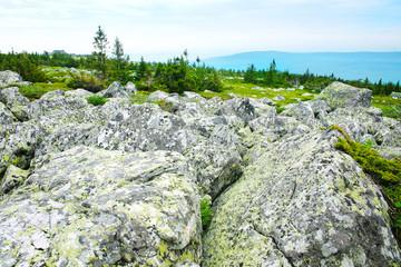 stone boulders