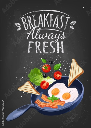 Breakfast Poster - 79253767