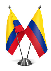 Colombia - Miniature Flags.