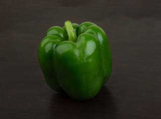Green Bulgarian pepper