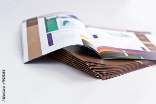Leinwanddruck Bild Broschürendruck