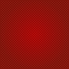 vector polka dot seamless red background