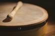 Traditional Irish bodhran and stick - 79259765