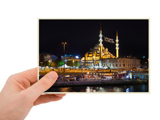 Istanbul Turkey photography in hand