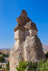 Fairy chimneys (rock formations) at Cappadocia Turkey