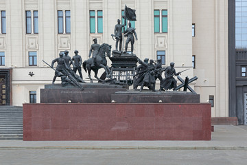 Monument to the heroes of the Second World War