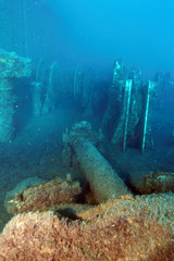 Zenobia Ship Wreck near Paphos.