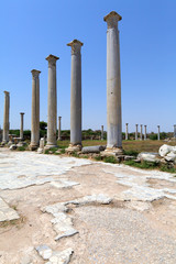 Ruins of Salamis near Famagusta.