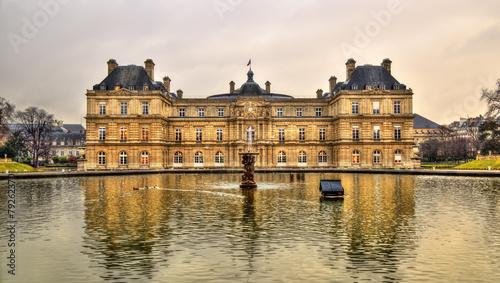 Leinwandbild Motiv Palais du Luxembourg - Senate of France - Paris
