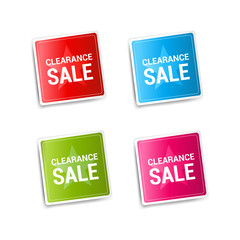 Clearance Sale Stickers