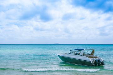 Boat at ocean