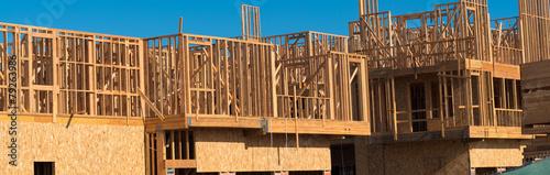 Poster Industrial geb. New Condominium or apartment construction