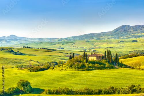 Tuscany at spring - 79266131