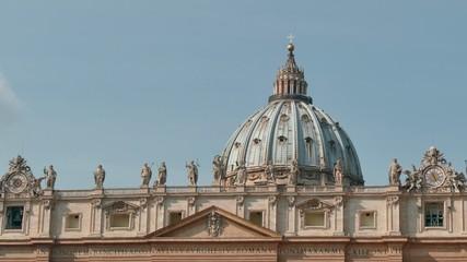 St Peter Basilica Square Vatican Rome Roma Italy Italia Sky