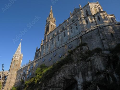 Basilique de Lourdes ; Hautes-Pyrénées Poster