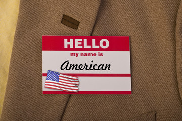 My name is American.