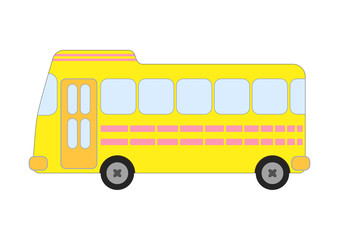 黄色のバス