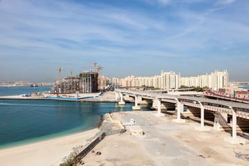 Palm Jumeirah highway,  Dubai, United Arab Emirates