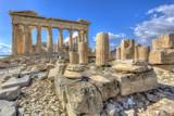 Parthenon temple on the Acropolis of Athens,Greece - 79271777