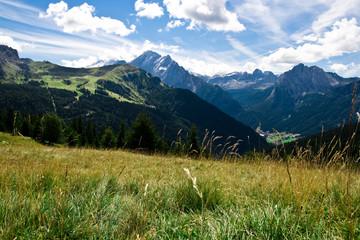 Italian Alps Landscape in Summer