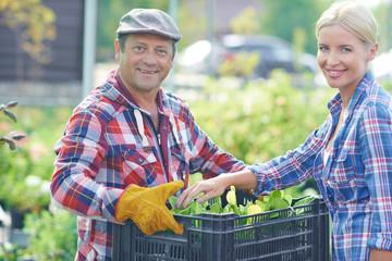 Happy gardeners