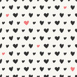 Seamless Hearts Pattern - 79278353