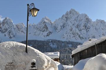 Neve nel borgo