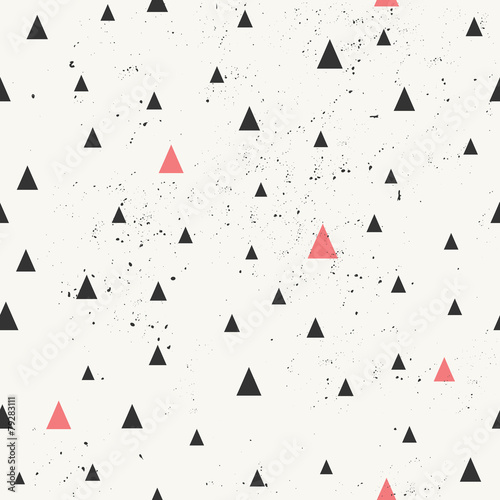 Hand Drawn Abstract Seamless Pattern - 79283111