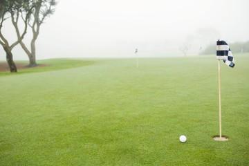 Golf links and golf ball