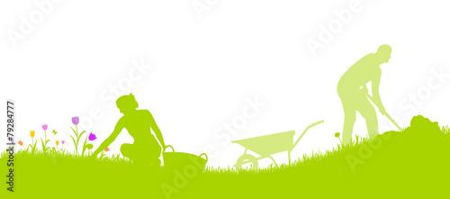 Gartenarbeit - 79284777