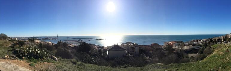 Panorama à Sète